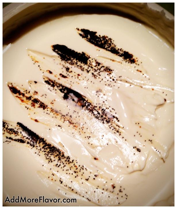 Mascarpone vanilla